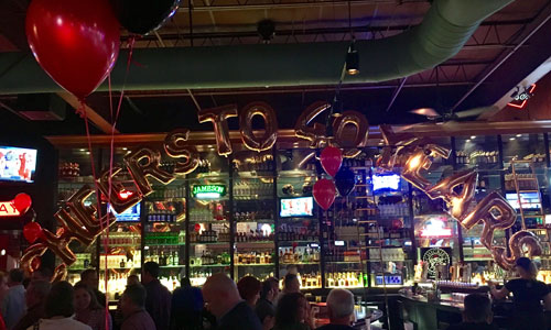 Celebrations at Chickie's & Pete's